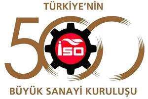 ISO announced the Turkey's Top 500 Largest Industrial Companies list.