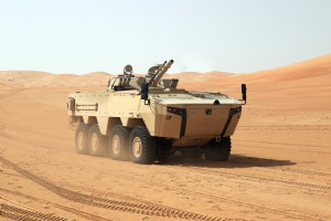 Otokar and Al Jasoor(CESUR) Company signed Rabdan 8x8 Tactical Wheeled Armored Vehicle Contract.
